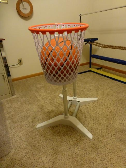 Our extra big basketball prop.