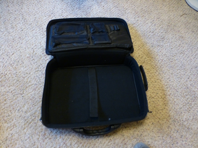 """This new """"suitcase"""" not only lacks an uncomfortable metal wheel mechanism (like many carryons), but is padded on all sides."""