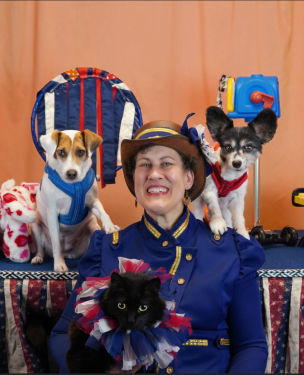 Sharon Page & The Circus Dogs